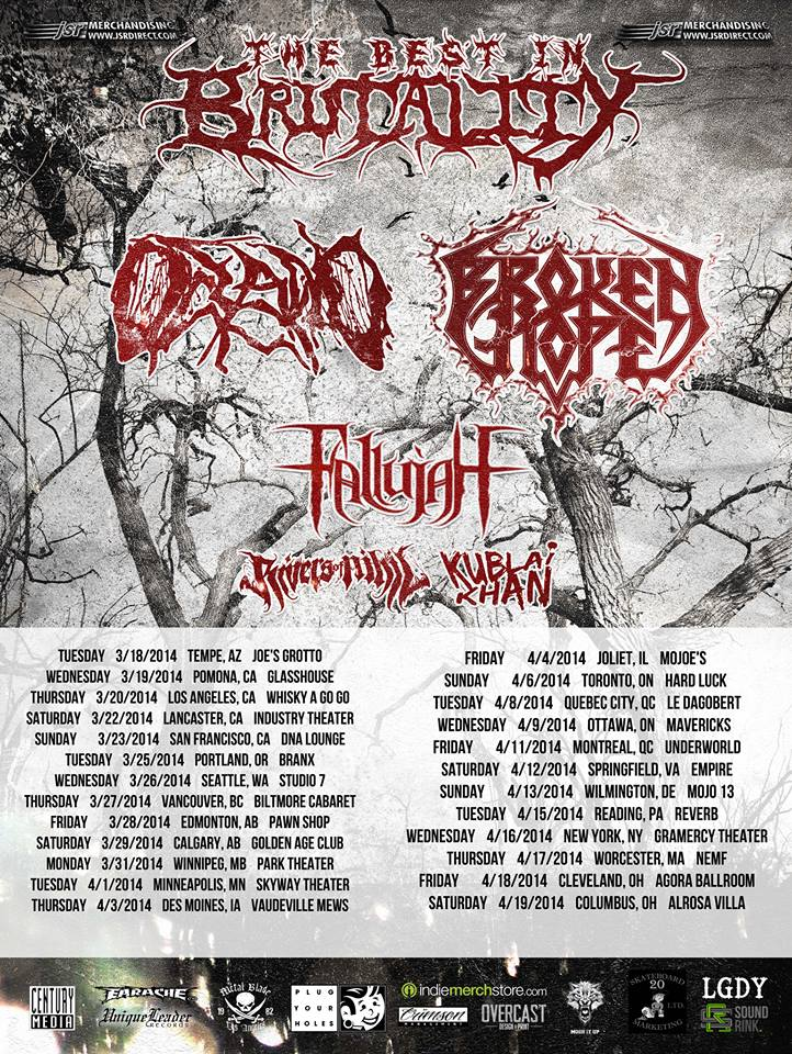 The Best in Brutality Tour