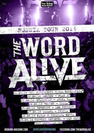 The Word Alive Russian Tour