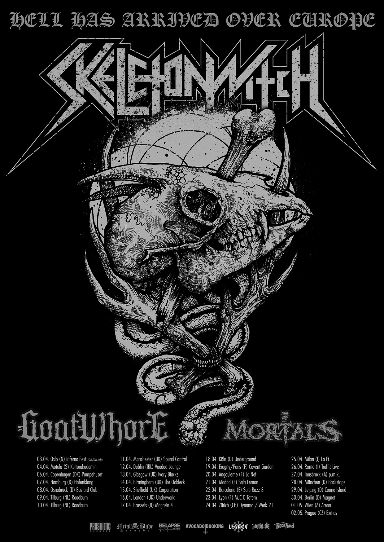 Skeletonwitch Tour 2015