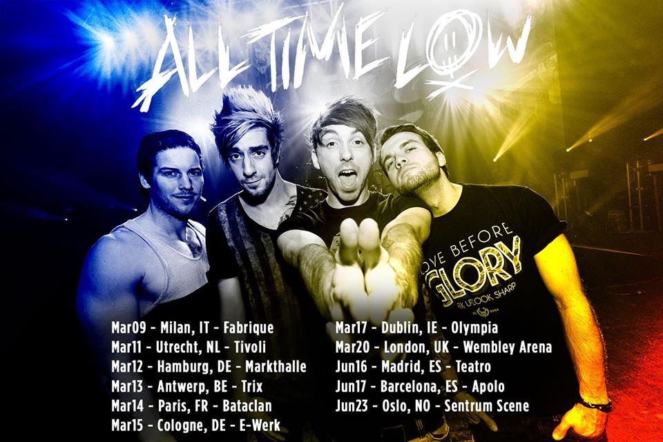 All Time Low - Tour 2015
