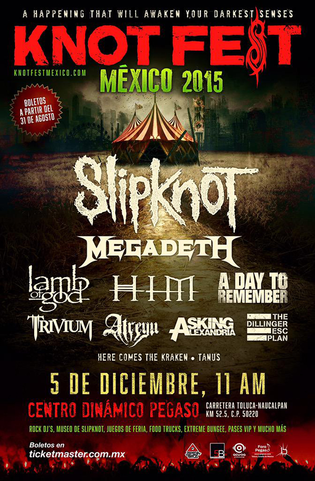 Knotfest Mexico 2015