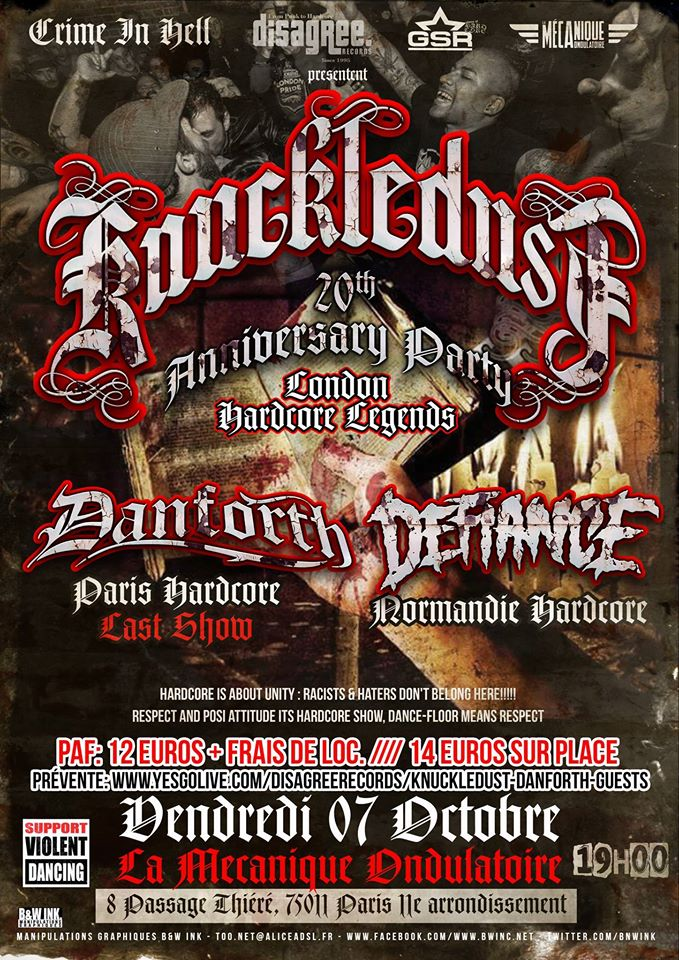 Knuckledust + Guests