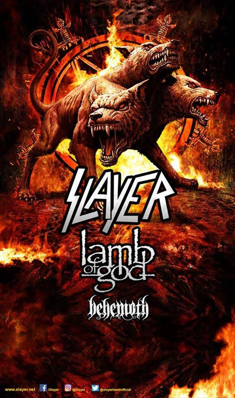 Slayer - Tour 2017