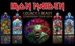 Iron Maiden - Tour 2018