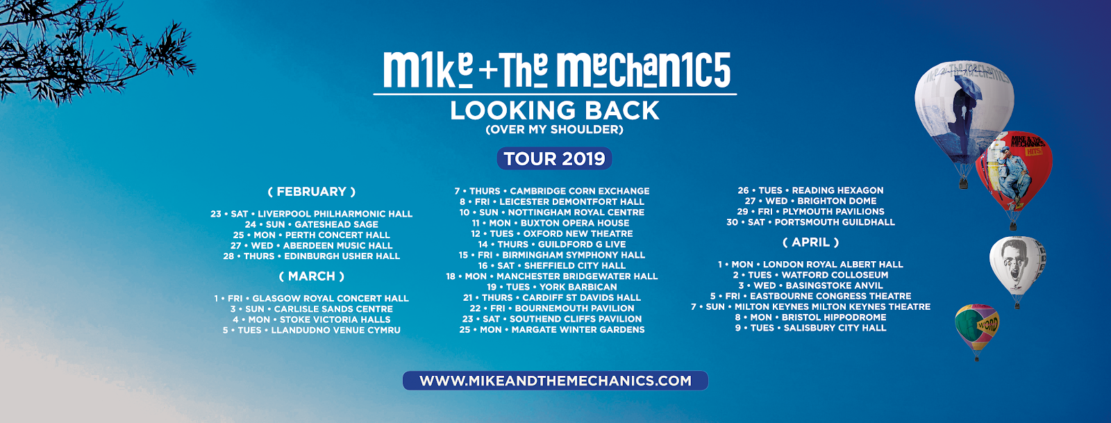 Mike & The Mechanics - Tour 2019