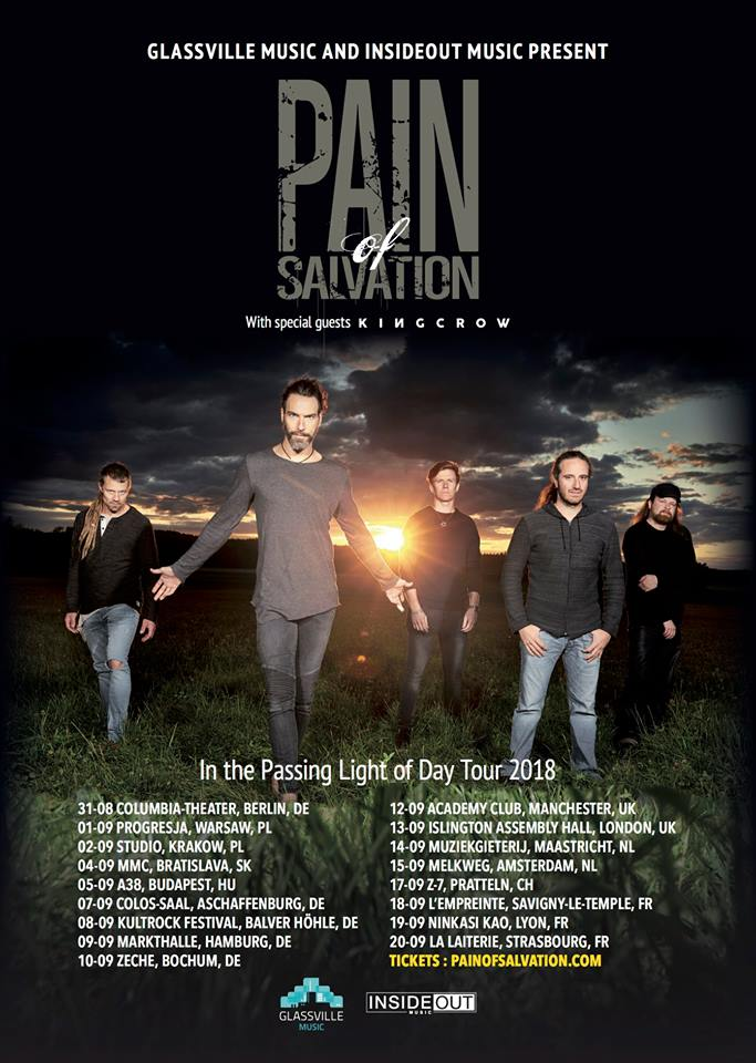 Pain of Salvation - Tour 2018
