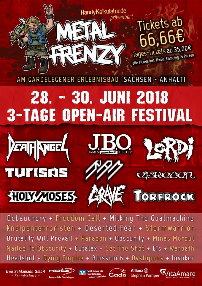 Metal Frenzy Open Air 2018