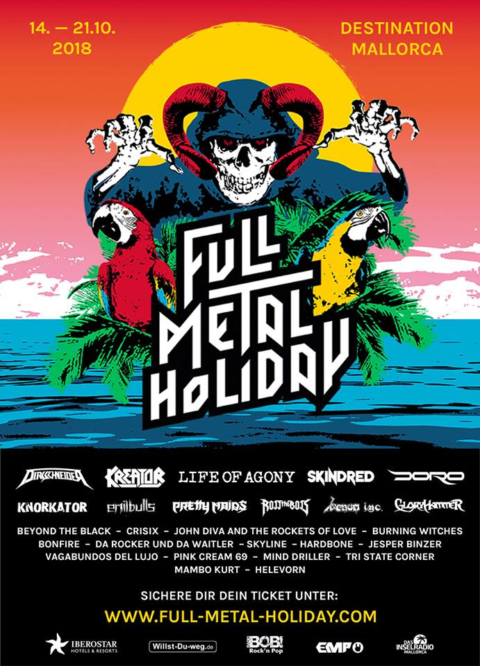 Full Metal Holiday 2018