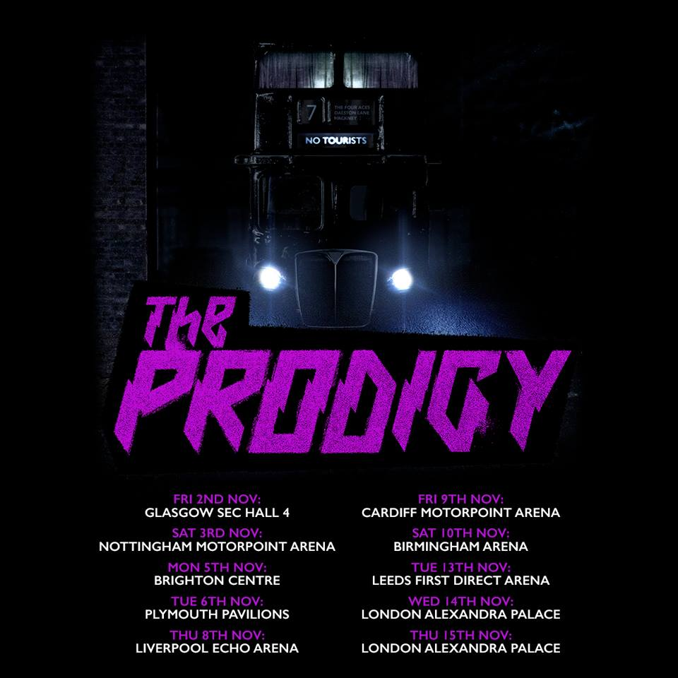 The Prodigy Tour 2018 14 11 2018 London England