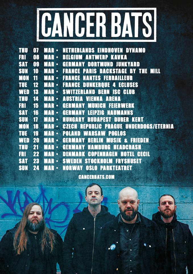 Cancer Bats - Tour 2019