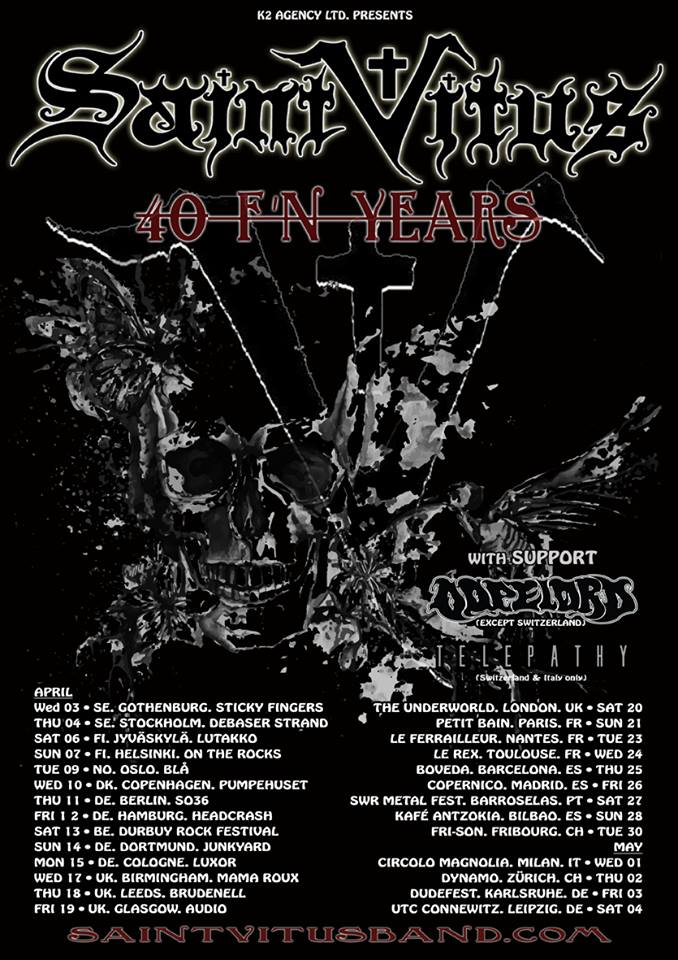 Saint Vitus - Tour 2019