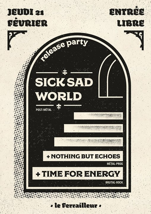 Sick Sad World (release party)
