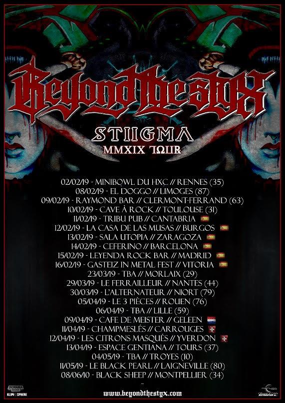 Beyond The Styx Tour 2019 12 04 2019 Yverdon Les Bains Vaud