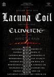 Eluveitie + Lacuna Coil + Infected Rain