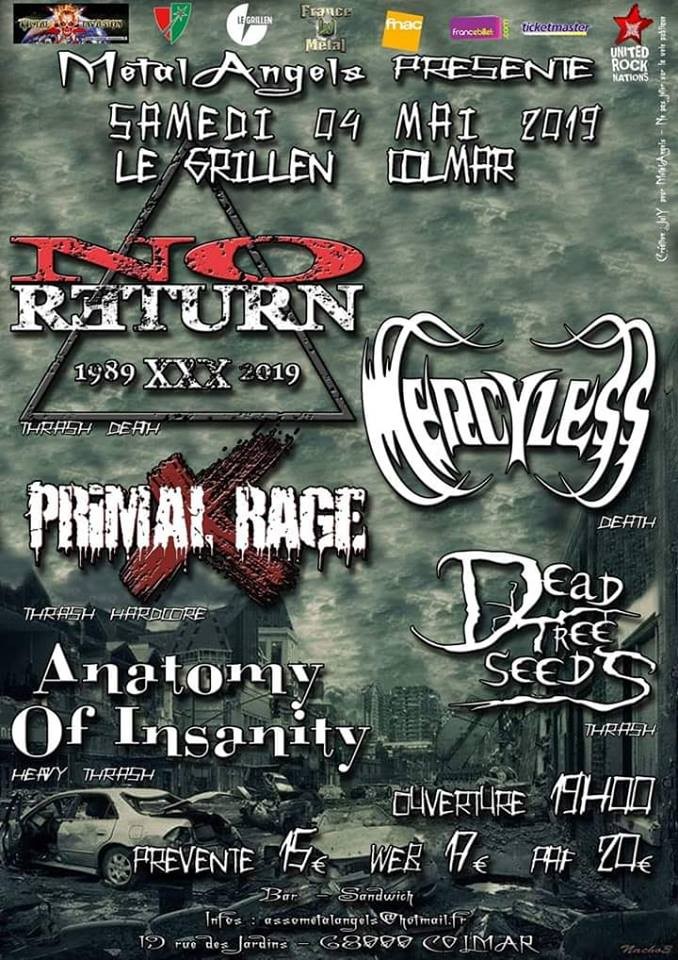 No Return + Mercyless + Guests