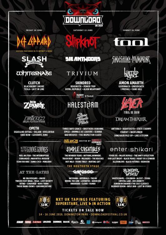 Download Festival 2020.Download Festival 2019 14 06 2019 3 Tage Donington
