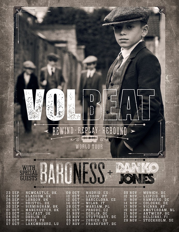 Volbeat - Tour 2019
