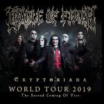 Cradle Of Filth - Tour 2019