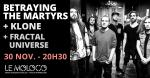 Betraying The Martyrs +Klone +Fractal Universe