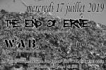 metal punk : THE END OF ERNIE + W.A.B. + guest