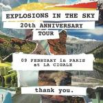 Explosions In The Sky - Tour 2020
