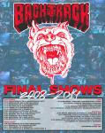 Backtrack Final Australia Tour 2019