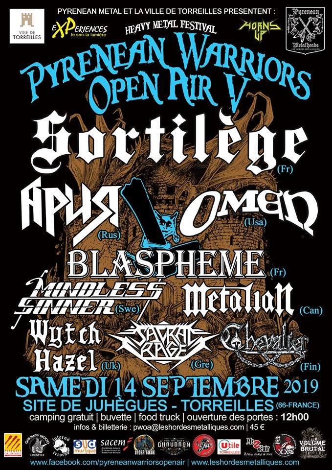 Pyrenean Warriors Open Air 2019