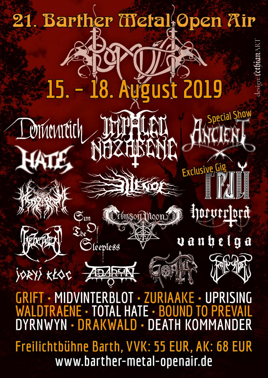Barther Metal Open Air 2019