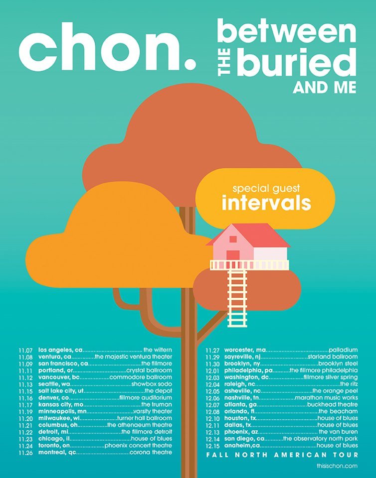 Between The Buried And Me + Chon