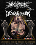 Necrobiotic + Warshipper Tour 2019