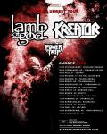 Kreator + Lamb Of God - Tour 2020