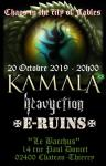 KAMALA European tour 2019 - HEAVYCTION+E-RUINS