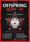 The Offspring + Sum 41 Canadian Tour 2019