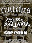 concert metal punk avec CRUTCHES + PROJECT FOR