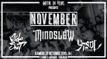 November + Mindslow + Wide Shut + ...
