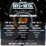 Winter Days of Metal 2019