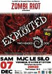 Concert ZOMBI RIOT:  THE EXPLOTED + 2 HEADED D