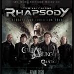 Turilli / Lione Rhapsody + Cellar Darling