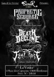 Prophetic Scourge / Death Decline / Tempt Fate