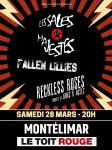 Les Sales Majestes + Fallen Lillies
