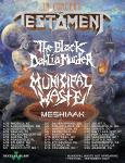 Testament + The Black Dahlia Murder